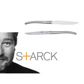 Philippe Starck for Forge de Laguiole : Log, table knives set of 6