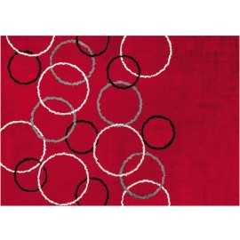 Tapis Loopy Red 140x200cm