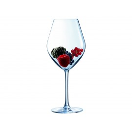 4 Verres à Pied Fruity Red Arom Up Vin Rouge 43 Cl