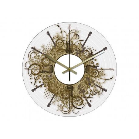 Horloge Vinyle Intégral Instruments à Cordes