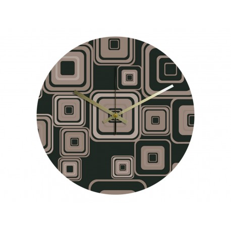 Horloge Vinyle Intégral Vintage Forms