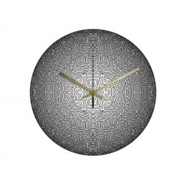 Vinyl Design Clock Vinyl Labirynthe