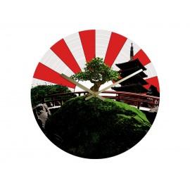 Horloge Vinyle Intégral Zen Japon