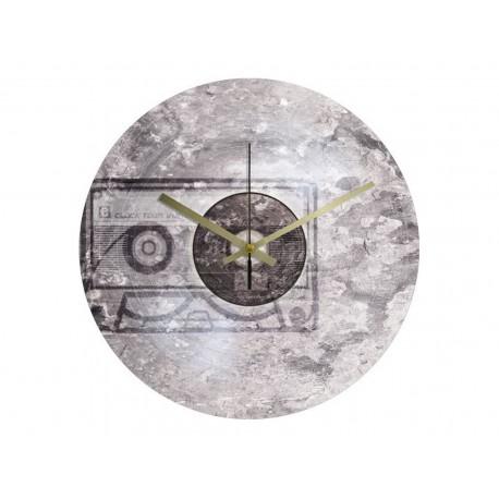 Vinyl Design Clock Fossil Tape