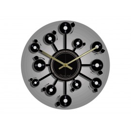 Vinyl Design Clock Vinyl Orbital