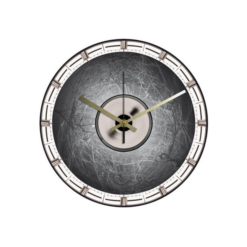 horloge vinyle int gral vinyl c r bral clock your vinyl. Black Bedroom Furniture Sets. Home Design Ideas