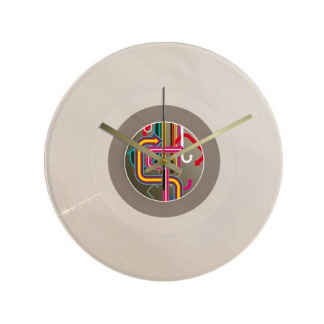 Vinyl Design Clock Vintage Arrows