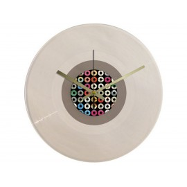 Vinyl Design Clock 45 RPM Labels