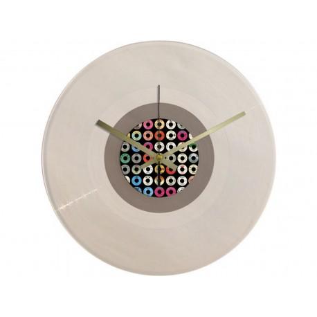 Vinyl Design Clock 45 RPM Labels