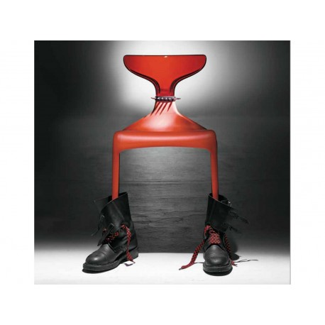 Chaise Punk Assise Rouge