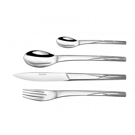 Stainless steel cutlery Herbes Folles 24 Pieces in Gallery Box