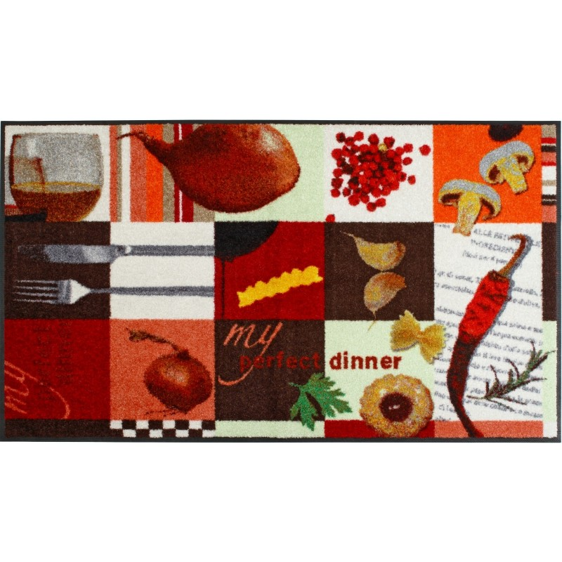 Tapis la cocina 75x120cm de la s rie wash dry de wmk for Tapis cuisine wash and dry