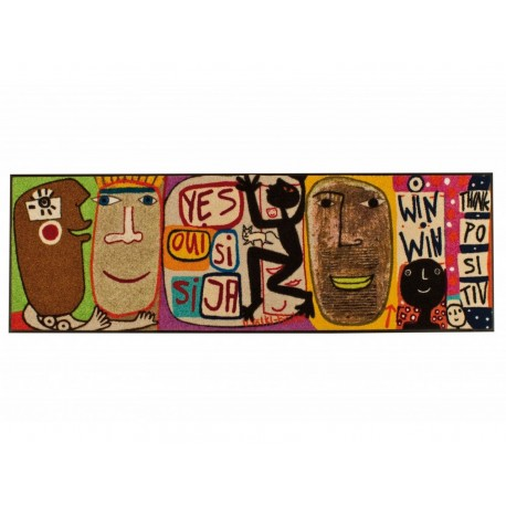 Mat Think Positive 60x180cm