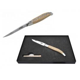 Couteau de Poche Wilmotte Bleu Manche 9 cm