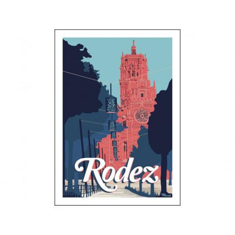 Affiche RODEZ