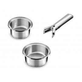 Ycone Set : 2 saucepans + 1 Handle