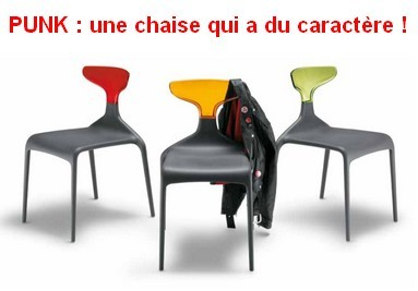 Chaise Punk : le design italien à son must