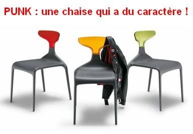 Punk Chair : Italian design at its best